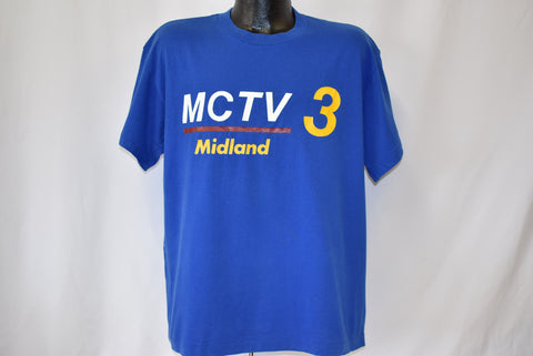 90s MCTV 3 Midland Michigan Public Channel t-shirt Extra Large