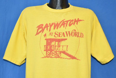 90s Baywatch at Seaworld TV Show t-shirt Extra Large