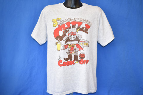 80s Log Cabin Tavern Chili Cook-Off t-shirt Large