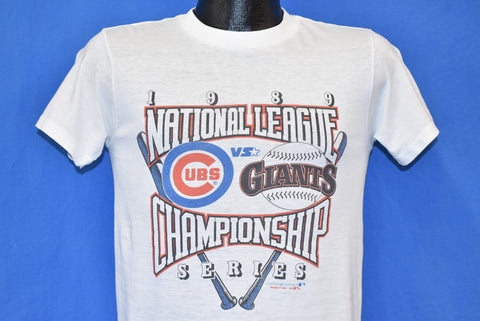 80s San Francisco Giants Chicago Cubs 1989 NLCS t-shirt Small