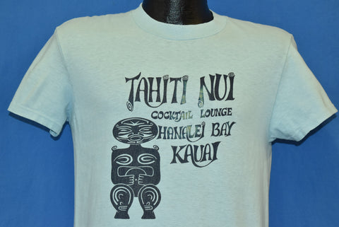 80s Tahiti Nui Cocktail Lounge Hanalei Bay Hawaii t-shirt Medium