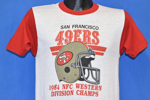80s San Francisco 49ers NFC Division Champs 1984 t-shirt Small