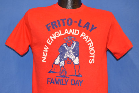 70s New England Patriots Family Day t-shirt Small