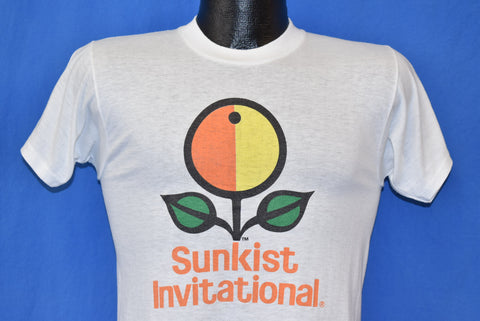 80s Sunkist Invitational 10k Run t-shirt Small