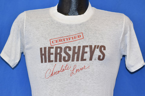 80s Hershey's Chocolate Lover Distressed t-shirt Small