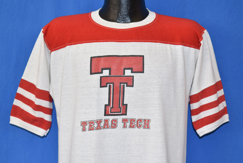 80s Texas Tech Red Raiders Jersey t-shirt Large