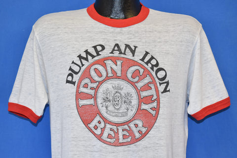 80s Iron City Beer Pittsburgh Brewing Company t-shirt Large