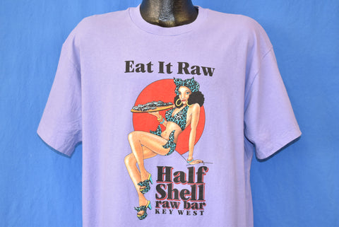 90s Eat It Raw Half Shell Raw Bar FL t-shirt XL