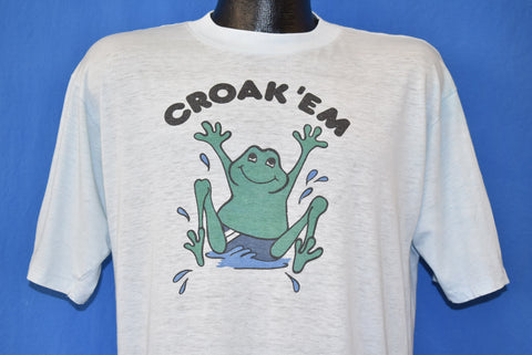 70s Croak 'Em Eagle Ridge t-shirt Large