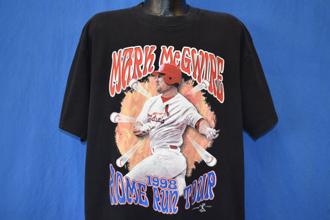 90s Mark McGwire Home Run Champ St. Louis Cardinals t-shirt XL
