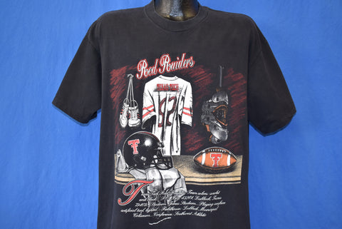 90s Texas Tech Red Raiders Locker Room t-shirt Extra Large
