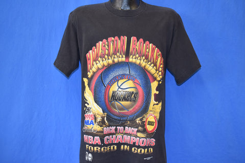 90s Houston Rockets 1995 NBA Finals Champions t-shirt Medium