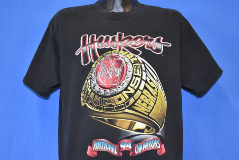 90s Nebraska Cornhuskers 1994 NCAA Champs t-shirt Large