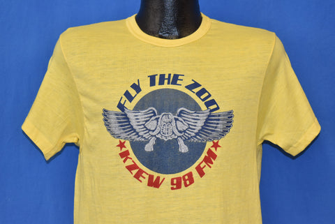 70s KZEW 98 FM Radio Station t-shirt Medium