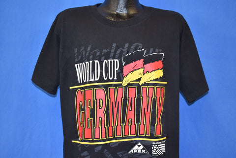 90s Soccer World Cup 1994 Germany Flag t-shirt Large