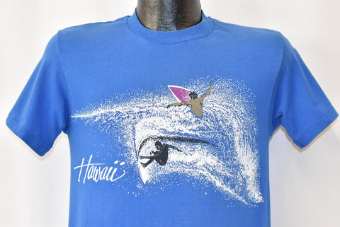 80s Hawaii Surfing Tourist t-shirt Small