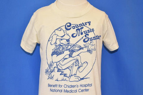80s Country Music Sunday Benefit t-shirt Youth Medium