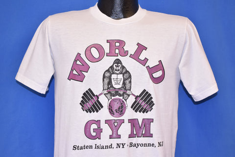 90s World Gym Staten Island NY t-shirt Medium