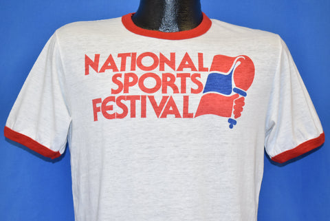 80s Levi's National Sports Festival Ringer t-shirt Medium