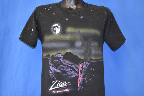 80s Zion National Park Canyons Utah t-shirt Small
