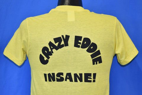 80s Crazy Eddie His Prices Are Insane Deadstock t-shirt Small