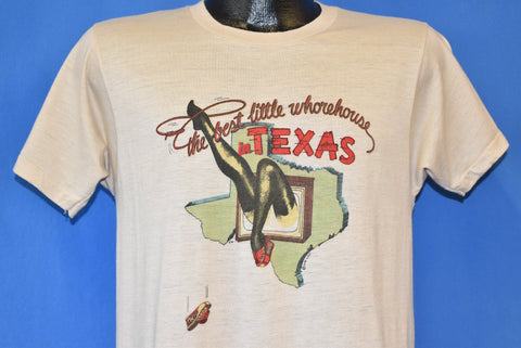 80s The Best Little Whorehouse in Texas Broadway Musical t-shirt Medium