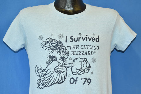70s I Survived the Chicago Blizzard of '79 t-shirt Small