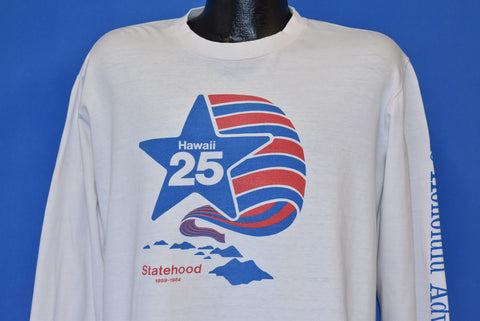 80s Hawaii 25 Years of Statehood t-shirt Extra Large