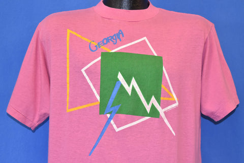 80s Georgia Mountains Abstract Tourist t-shirt Large