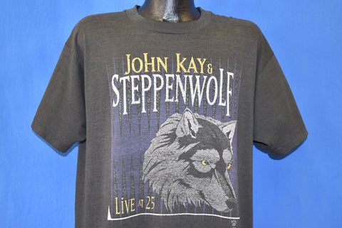 90s John Kay Steppenwolf Live at 25 t-shirt Extra Large