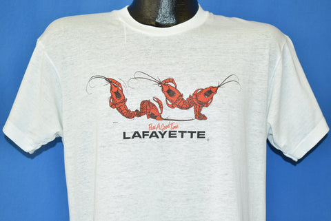 80s Lafayette Louisiana Crawfish t-shirt Large