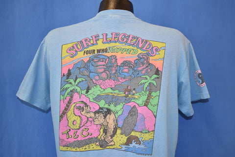 80s T&C Surf Legends Hawaii Four Who Ripped t-shirt Large