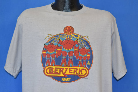 80s Berzerk Atari 2600 Video Game Promo t-shirt Extra Large