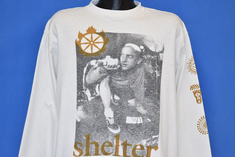 90s Shelter NYC Hardcore Band Long Sleeve t-shirt Extra Large