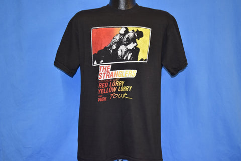 80s The Stranglers Red Lorry Yellow Vigil Tour t-shirt Large