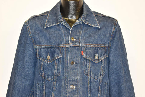 80s Levis Type 3 70506 Trucker Denim Jacket Medium