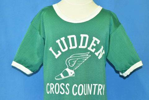 70s Ludden Cross Country Ringer Jersey Youth Large