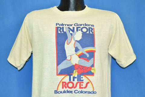 80s Run for the Roses Palmer Gardens Colorado t-shirt Medium