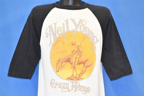 80s Neil Young Crazy Horse 1987 American Tour t-shirt Medium