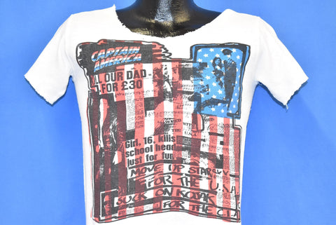 70s The Clash I'm So Bored With the USA Punk t-shirt Small