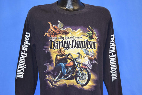 90s Harley-Davidson On the Eighth Day t-shirt Medium