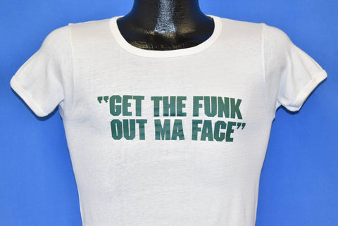 70s Get the Funk Out Ma Face Brothers Johnson t-shirt Extra Small