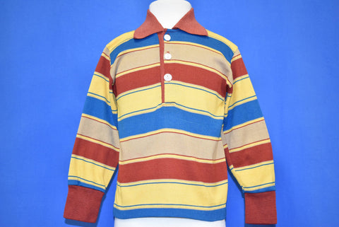 70s Striped Multi-Color Polo t-shirt Toddler 2T