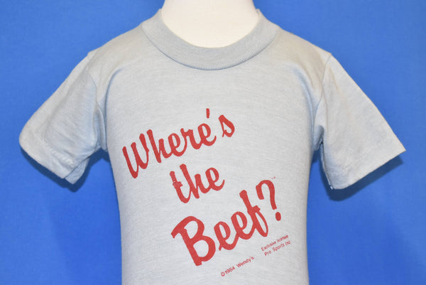 Vintage Wendy's Where's The Beef t-shirts