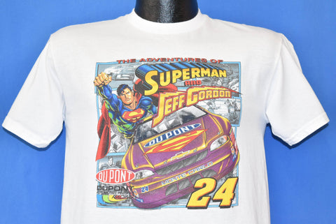 90s Jeff Gordon Superman #24 t-shirt Youth Extra Large