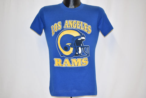 80s Los Angeles Rams Helmet t-shirt Extra Small
