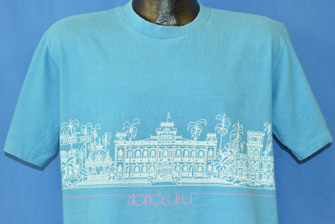 80s Honolulu Hawaii Iolani Palace Crazy Shirts t-shirt Medium