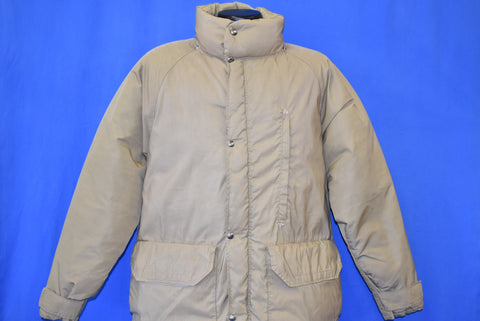 80s North Face Brown Label Down Fill Winter Jacket Large