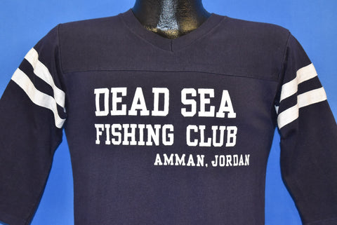 80s Dead Sea Fishing Club Amman Jordan t-shirt Small