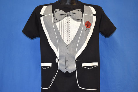 80s Tux Tuxedo All Over t-shirt Medium